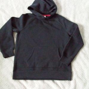NWOT Unisex Black Hoodie by Essentials